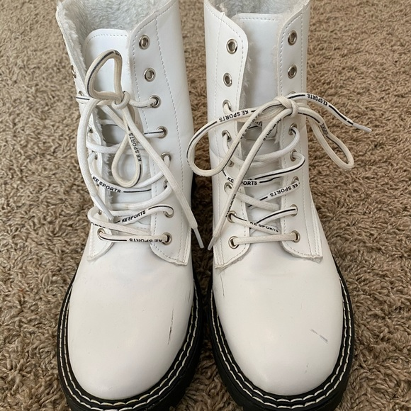 Shoes | Off Brand White Doc Martens
